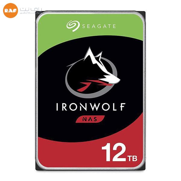 هارددیسک اینترنال 12 ترابایت IronWolf سیگیت مدل ST12000VN0008