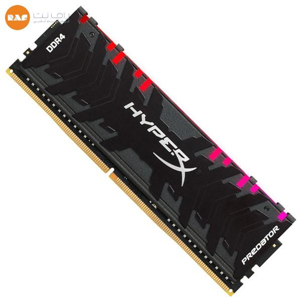 رم کینگستون مدل HyperX Predator RGB 8GB 3200MHz CL16 DDR4