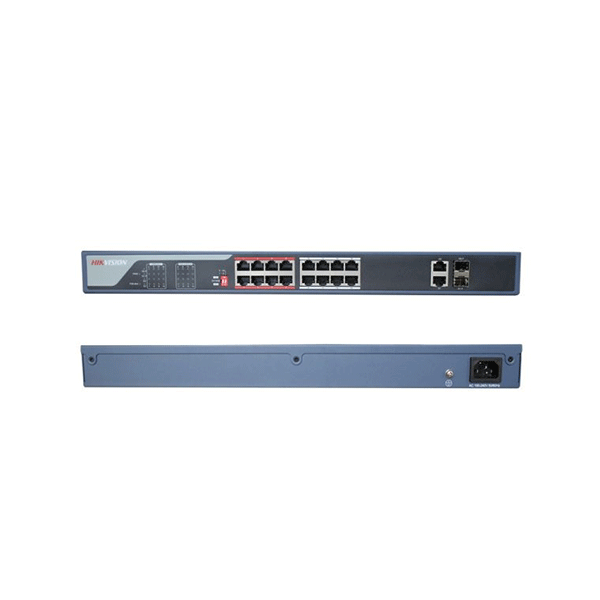 سوییچ شبکه 16 پورت هایک ویژن مدل DS-3E0318P-E