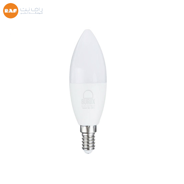 لامپ ال ای دی 7 وات بروکس مدل شمعی پایه E14