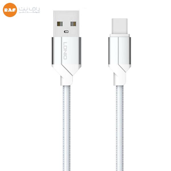 کابل تبدیل USB به USB-C الدینیو مدل LS-392 طول ۲ متر (اورجینال) Type-c