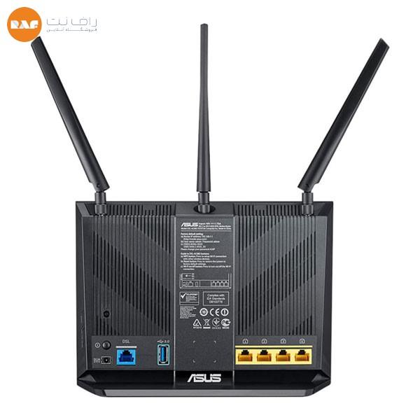 مودم روتر ADSL/VDSL بیسیم AC1900 ایسوس مدل DSL-AC68U