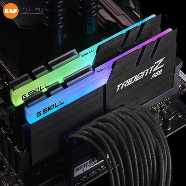رم جی اسکیل مدل Trident Z RGB 32GB DUAL 3000MHz CL16 DDR4