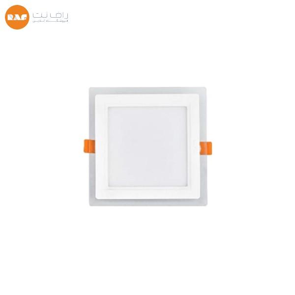 پنل ال ای دی 9 وات پارس شعاع توس مدل گلاریس مربعی