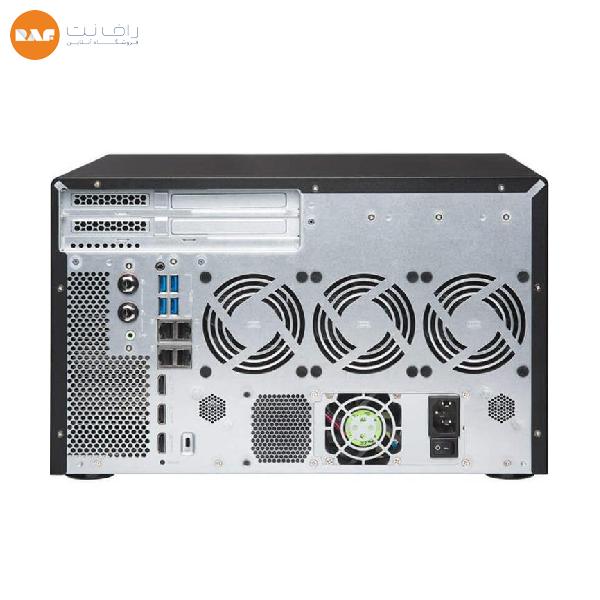 ذخیره ساز تحت شبکه کیونپ مدل TVS-882BR-ODD-I5-16G