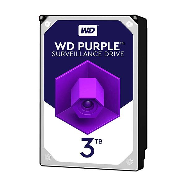 هارددیسک اینترنال وسترن دیجیتال مدل Purple WD30PURX ظرفیت 3 ترابایت