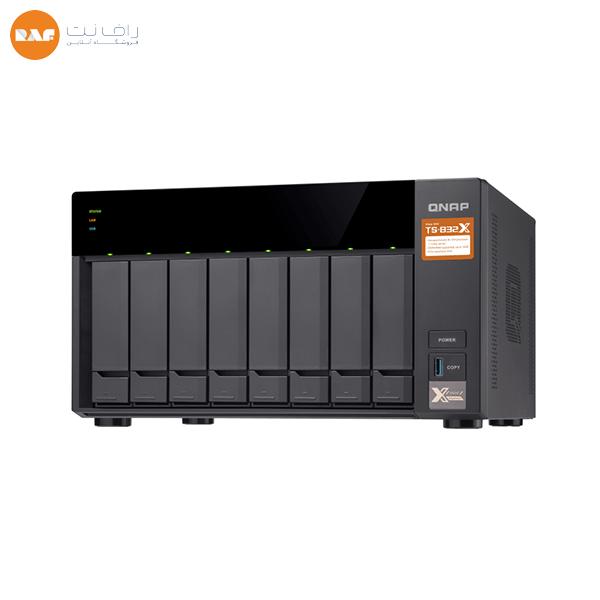 ذخیرهساز تحت شبکه کیونپ مدل TS-832X-8G