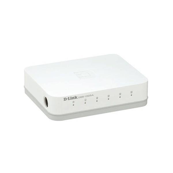 سوئیچ شبکه ۵ پورت ۱۰۰/۱۰ دی-لینک مدل A1005-DES