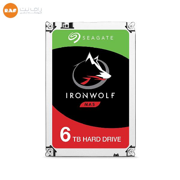 هارد اینترنال 6 ترابایت Seagate مدل IronWolf ST6000VN0033