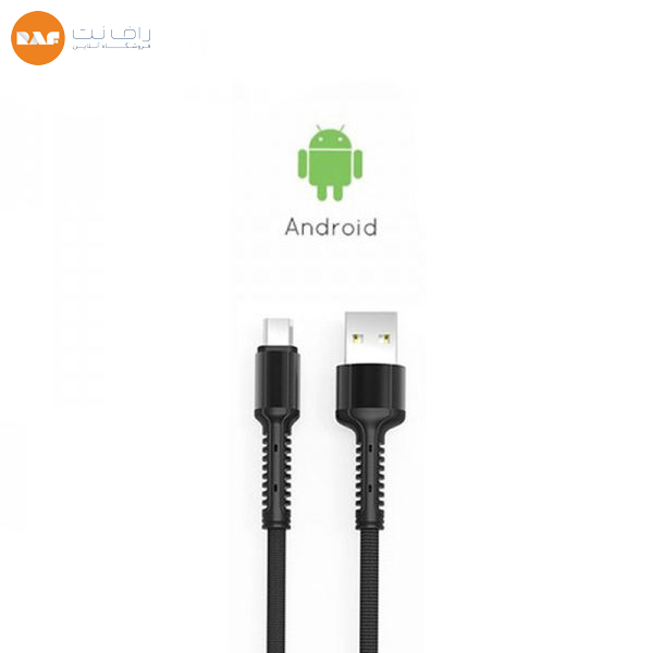 کابل تبدیل USB به microUSB الدینیو مدل LS64 طول ۲ متر (Type-c) اورجینال