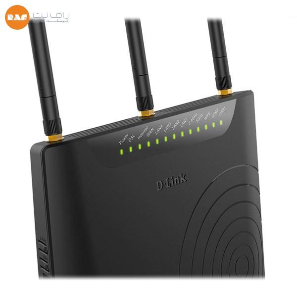 مودم روتر +VDSL2/ADSL2 بیسیم AC750 دی لینک مدل DSL-2870A